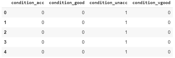 dataset columns