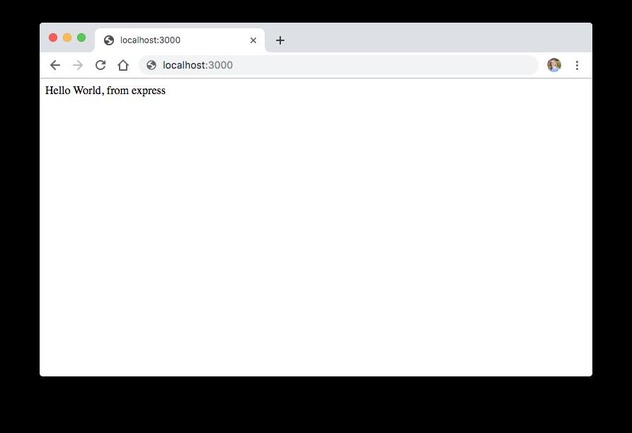 node js rest api endpoint result