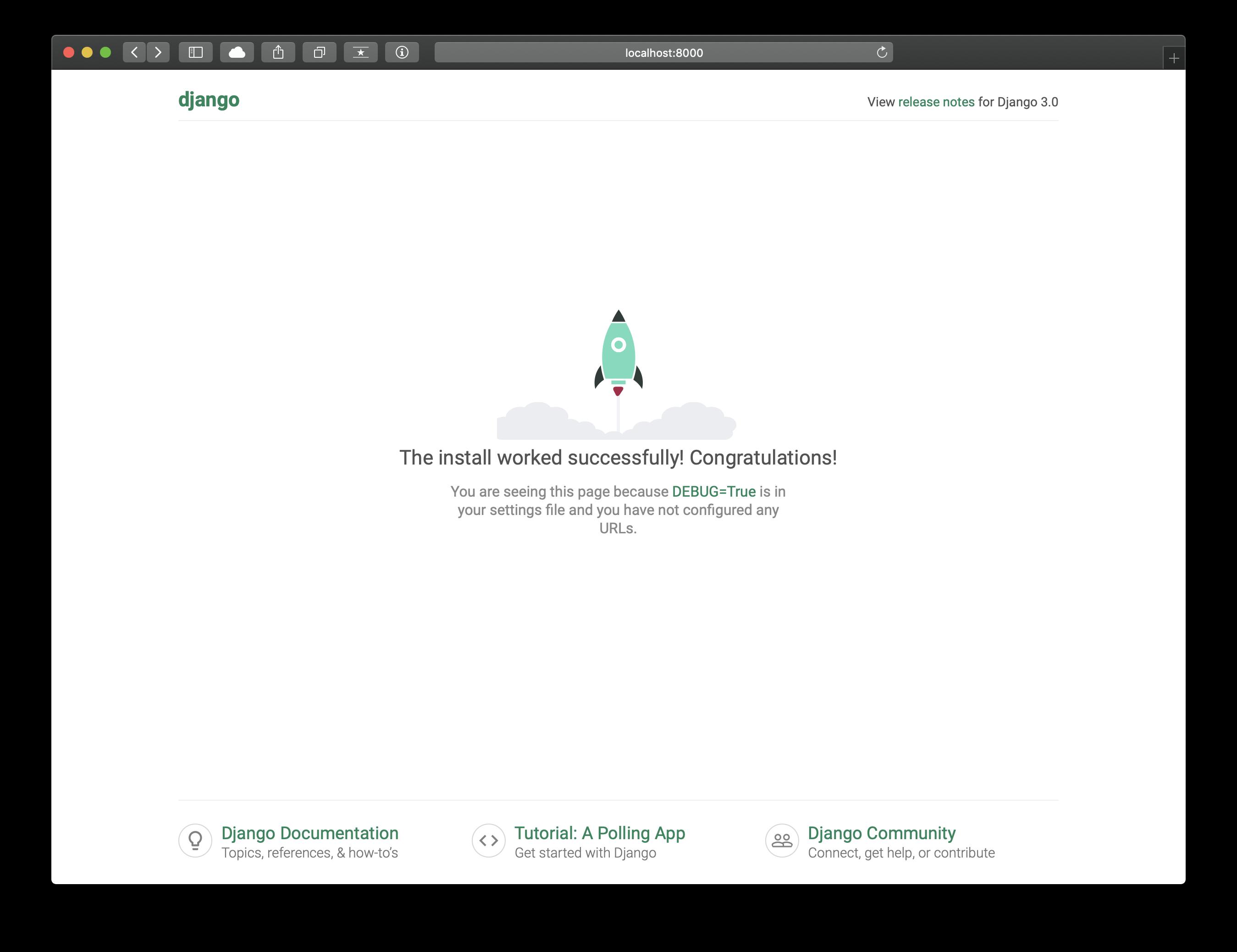django app bootstrap