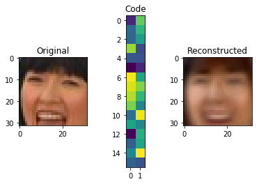low dimension autoencoder