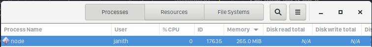 web browser memory usage