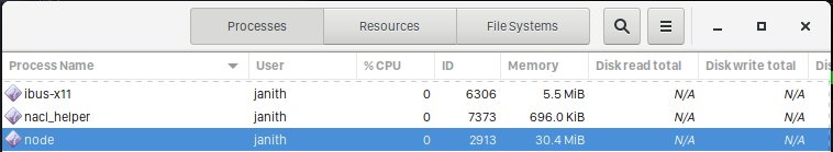 web browser memory usage with a stream