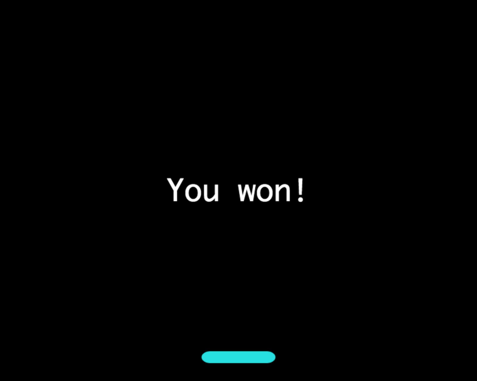 Game Won